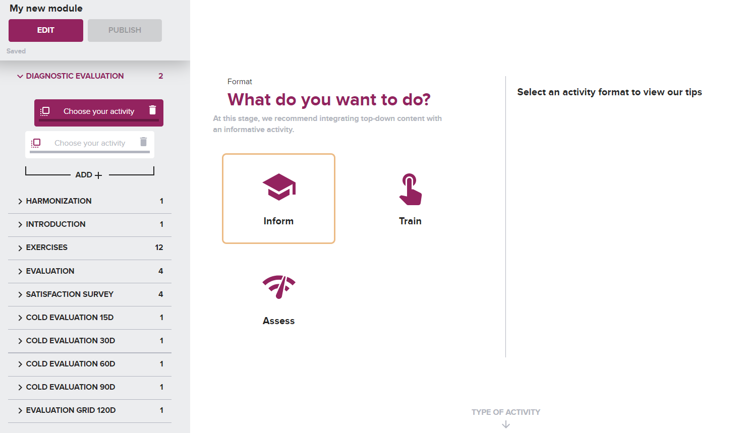 edmill screenshots platform
